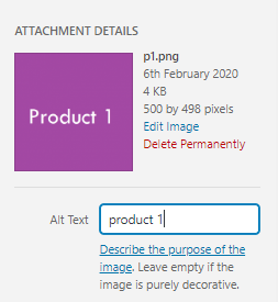 image alt text - WooCommerce Store Optimization