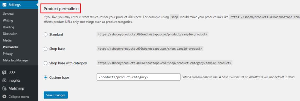 URL - WooCommerce Store Optimization
