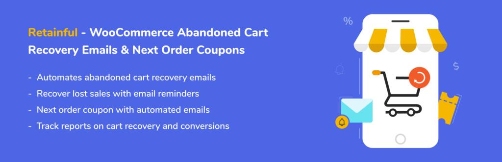 Retainful - cart abandonment plugins