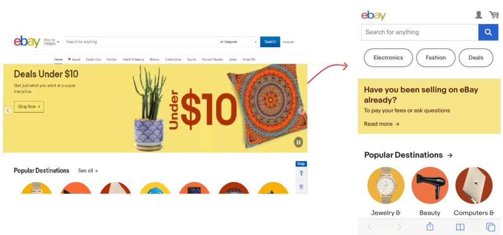 Mobile optimization - E-commerce Store Optimization