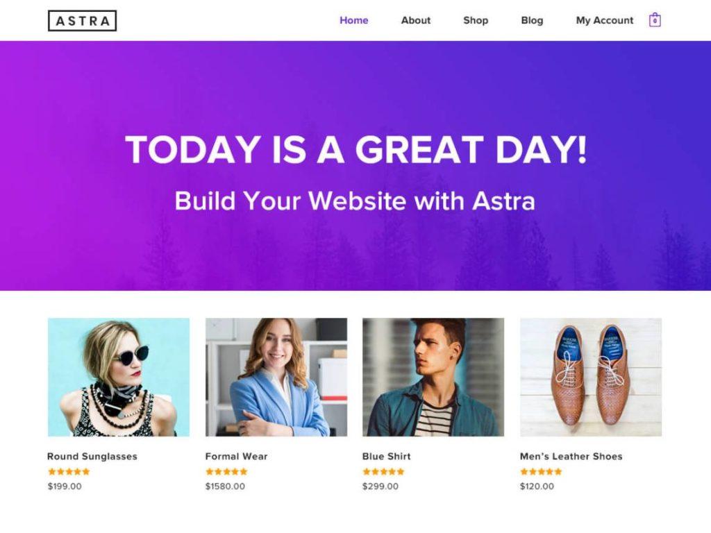 WooCommerce Theme - Astra