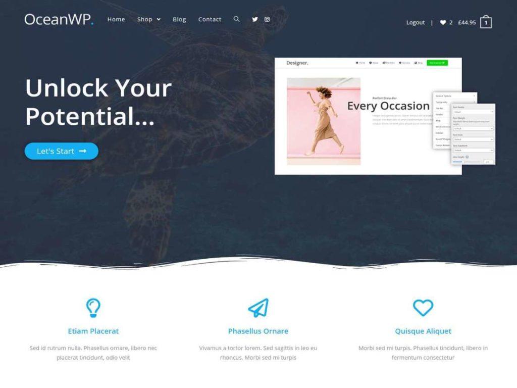 WooCommerce Theme - OceanWP