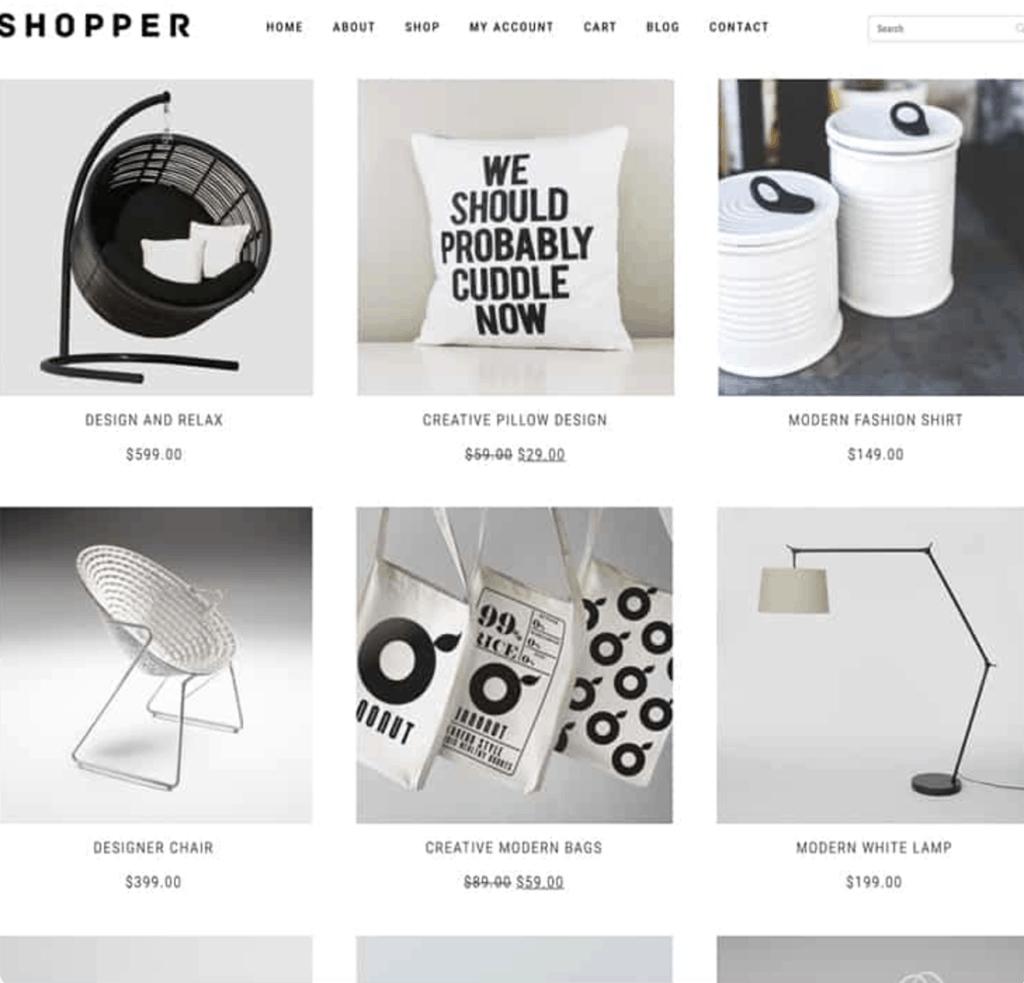 WooCommerce Theme - Shopper