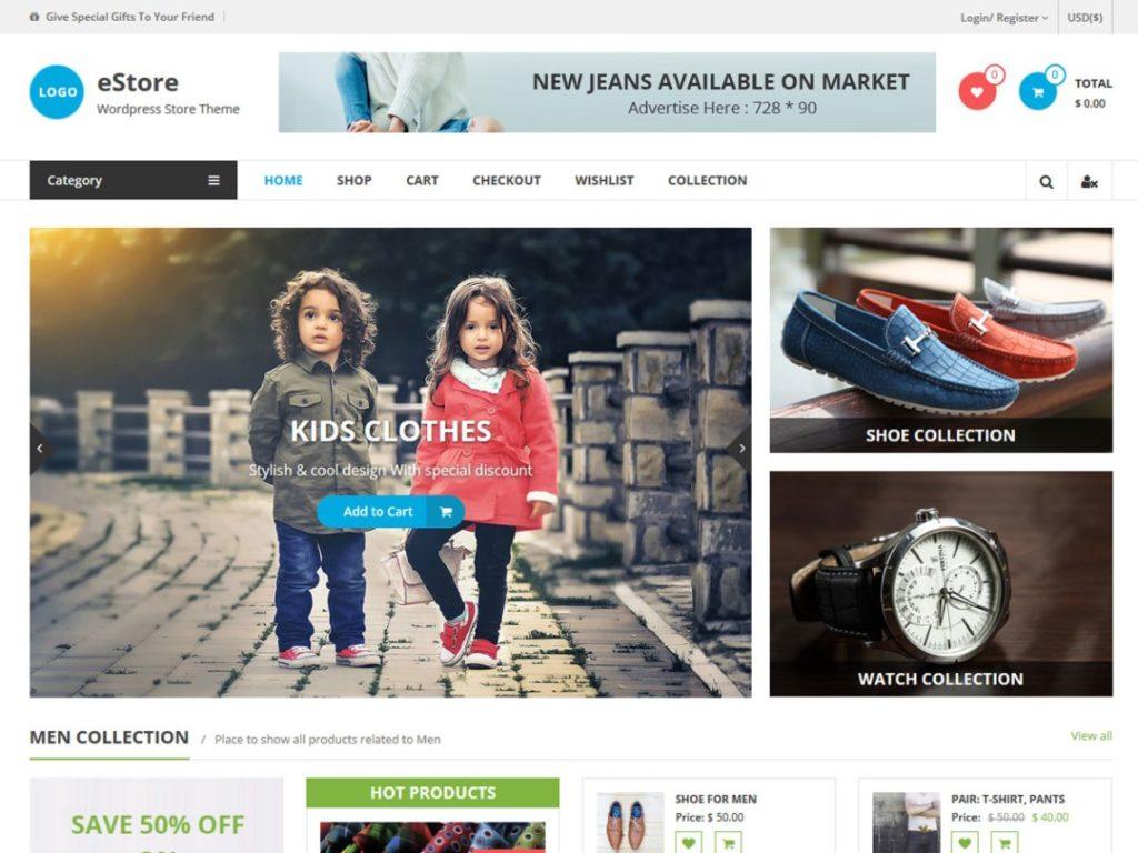 WooCommerce Theme - eStore
